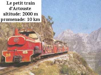 The little train of Artouste